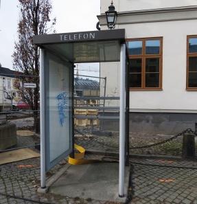 Tror det var ett tag sedan det fanns en telefon här...