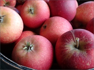 äpplen...