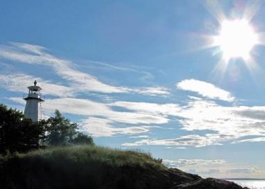 Sommardag vid Hästholmen vid Vättern