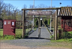 En örtagård som jag gärna skulle besökt - tyvärr var det stängt...
