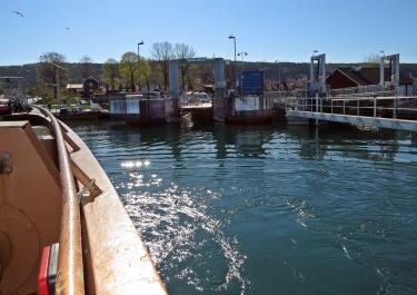 Tillbaka i Grännas hamn...