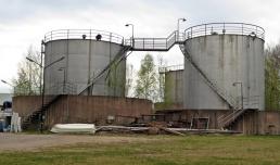 ... och de gamla cisternerna ...