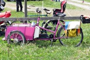 Inget medeltidsfordon ... stod vid cykelparkeringen... :)