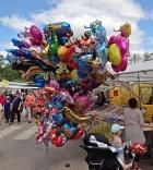 Massor med ballonger