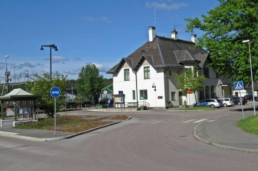 Järnvägsstationen