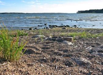 Stranden är sig inte alls lik så som jag minns den från när barnen var små...
