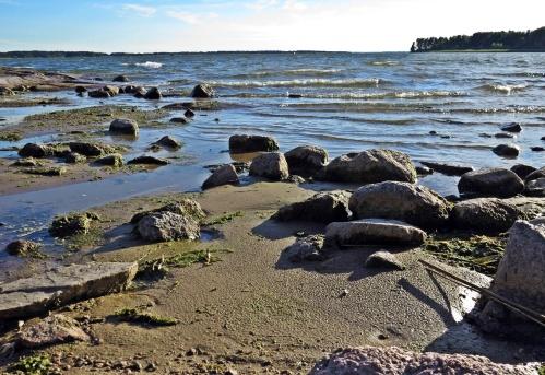 Då var det finare sand ... och inga stenar ... eller minns jag fel?