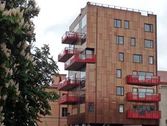 Hus byggt i koppar ... eller i alla fall med kopparfärg...