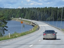 Många broar passerades