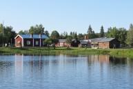 Hembygdsgården från andra hållet.