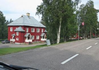 ... fint hus ...