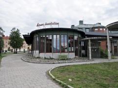 Busstation...