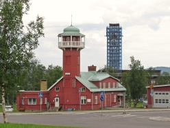 Två torn - det blå är bekant, men inte det andra...