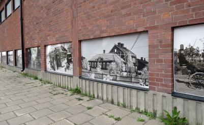 Intressant bildserie ur Kirunas historia...