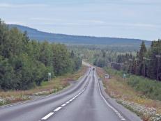 E 45 på väg norrut...p