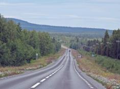 E 45 på väg norrut...på väg norrut