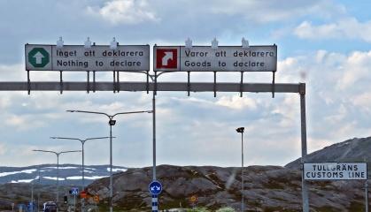 Gränsen till Norge