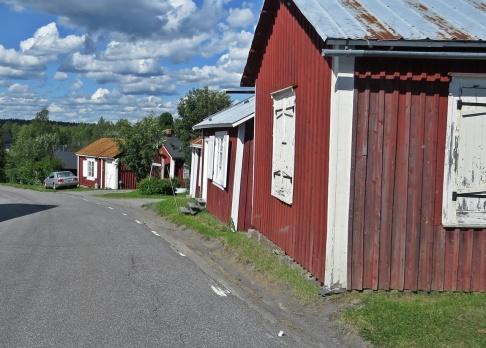 Hittade ingen parkeringsålats i Gammelstad ...