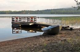 Fint nere vid sjön...