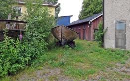 Båtfynd på en bakgård :)