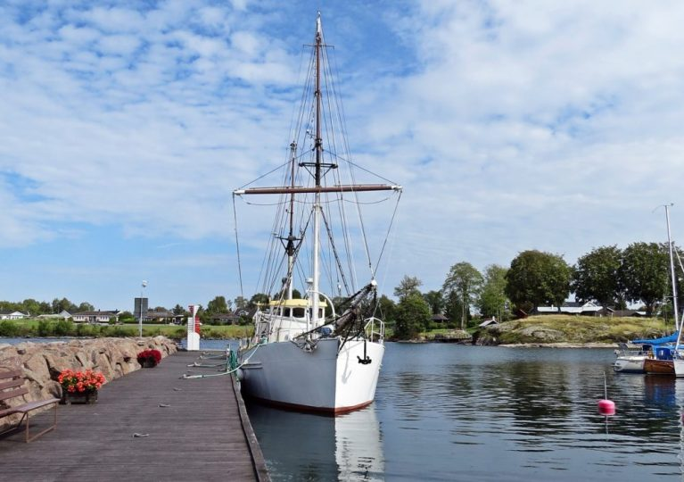 En fin gammal båt ...