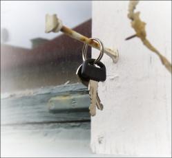 Någon har låst och tappat nycklarna!
