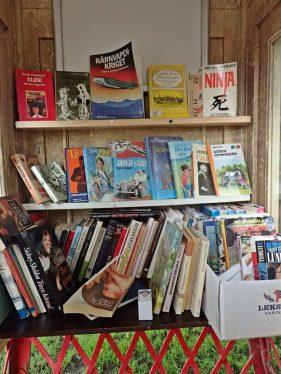 Låna en bok och lämna en annan istället - genialiskt!