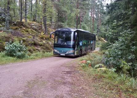 ... och här kommer Eko- turens buss ...