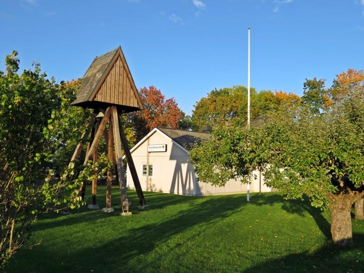 Munkebodagården i Norsholm var platsen för dopet...