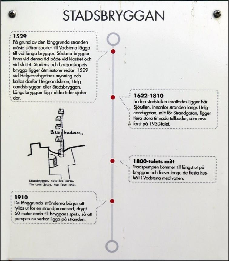 Lite fakta om Stadsbryggan