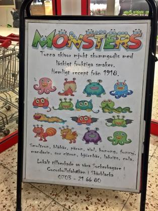 Det finns många olika monster ...