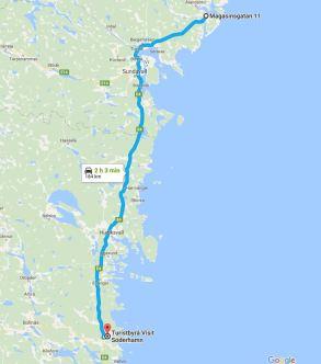 Dag 14 Härnösand - Söderhamn