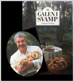 Antonio Carluccio en rolig italienare som är helt galen i svamp. En trevlig bok från 1989 ... fylld med fantastiska svamprecept.