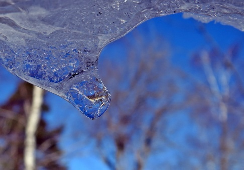 Is och blå himmel ...