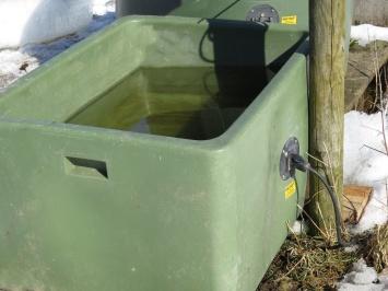bra med uppvärmd vattenho - har säkert varit till stor hjälp i vinter.