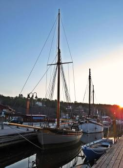 Gammal vacker båt ...