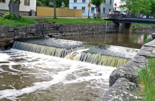"""""""Vårflod"""" i Storån ..."""