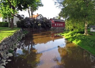 Storån bort mot Klosterkvarn ...