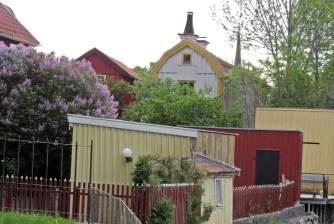 ... olika hus ...