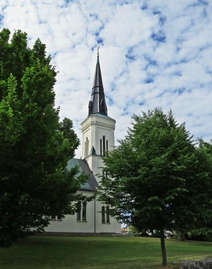 Jag klev på vid Vånga kyrka ...