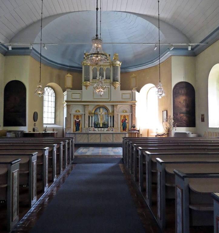 Ö. Ämterviks kyrka, interiör