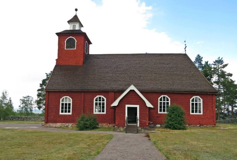 Envikens kyrka ... exteriör