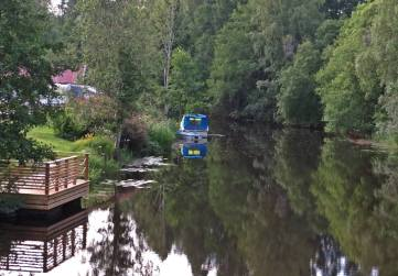 Bron från campingen in mot centrum...
