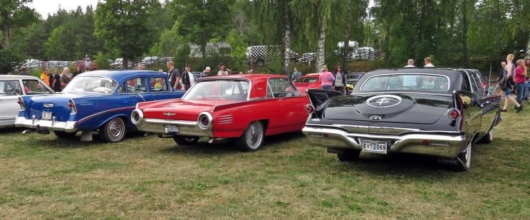10 juli. Westerqvarn- Många fina bilar!