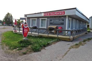 12 juli. Kungsgårdens camping ...