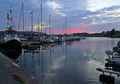 31 juli. Hästholmen. Tidig morgon ... kl.04:43