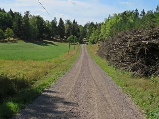 Snart vid Granmyra och sen är det bara ett par hundra meter kvar :)