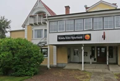 Sparbanken ... ett riktigt bankkontor!