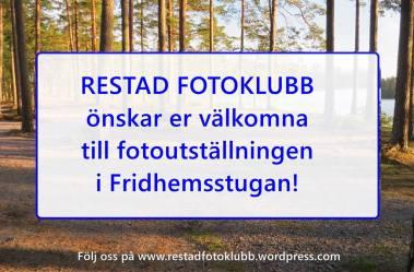 26 augusti Årets utställning på Hembygdsgården.