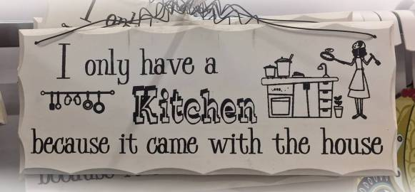 Tror nog jag skulle sakna mitt lilla kök om jag inte hade något :)
